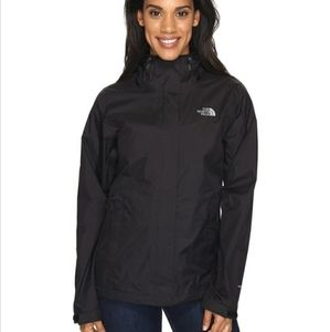 The North Face Black Lightweight Rain Jacket